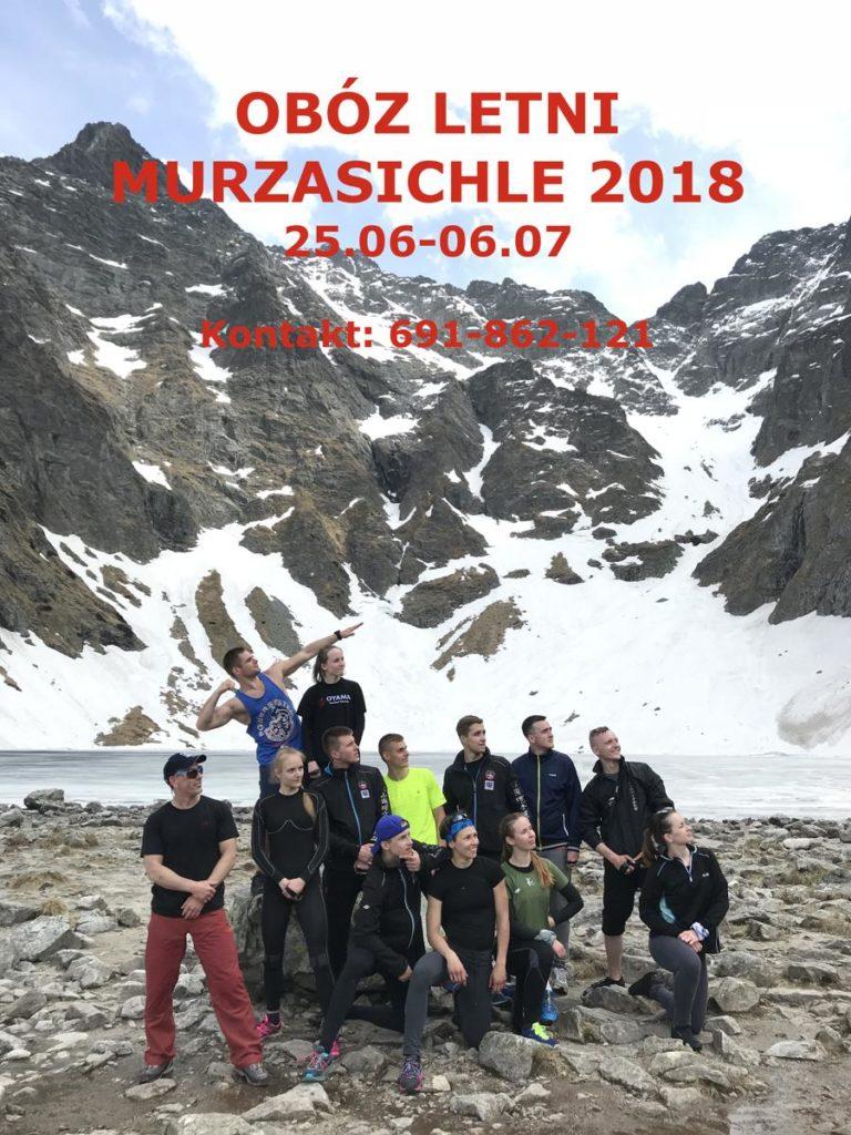 Obóz letni 2018 Murzasichle